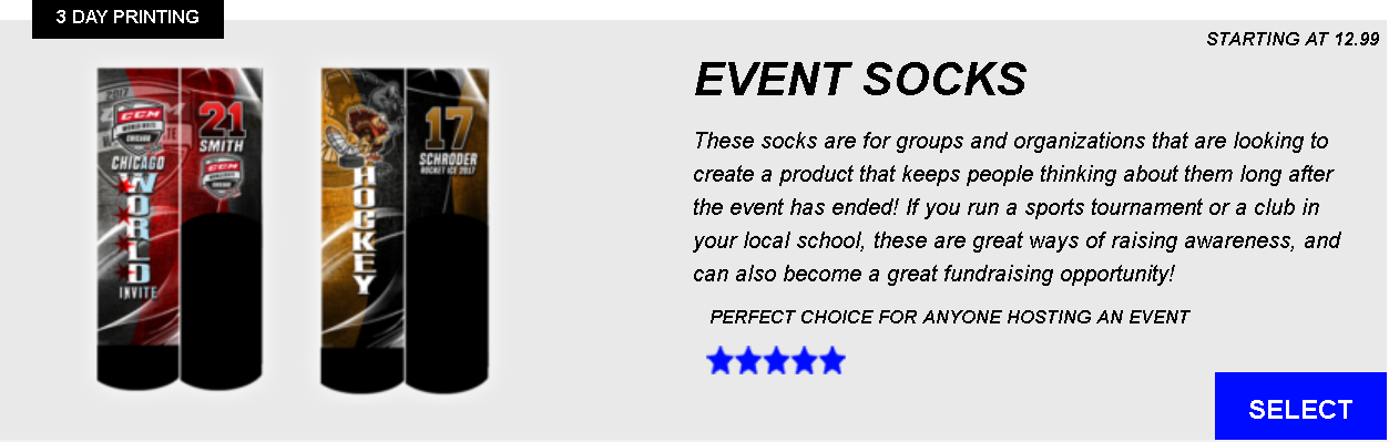 Event Socks